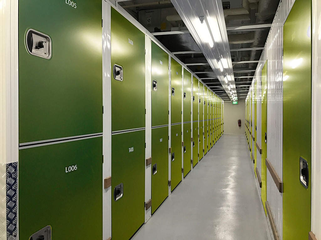 medium green storage lockers | Store-y Self Storage