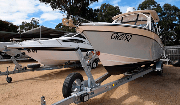 boat storage solutions in outdoor storage centre | Store-y Self Storage