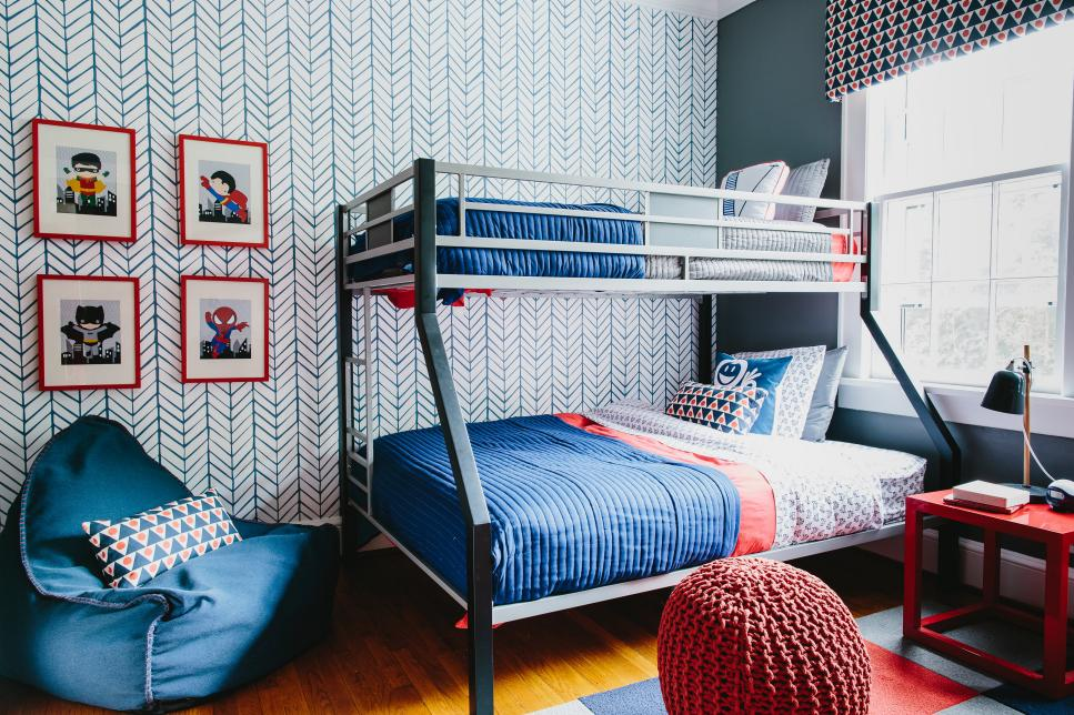 spiderman bunk beds