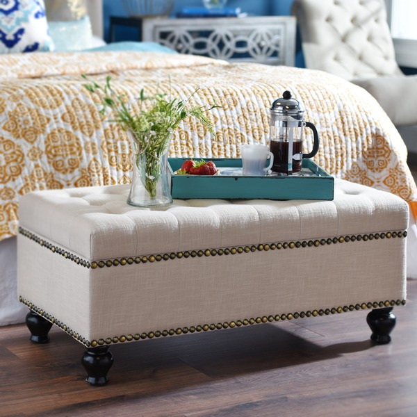 bedroom ottoman