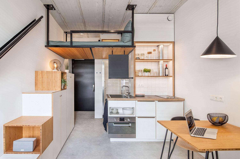 Loft style apartment